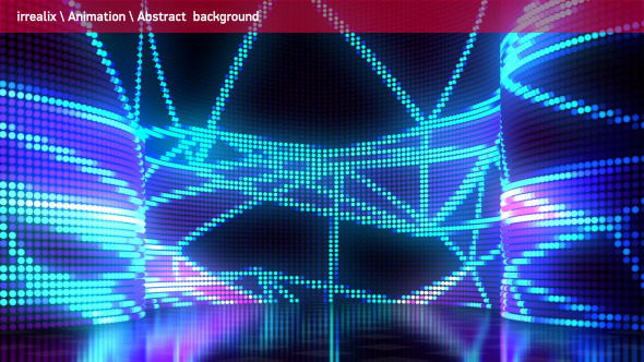 Led Lights Wall 13 By Irrealix Videohive