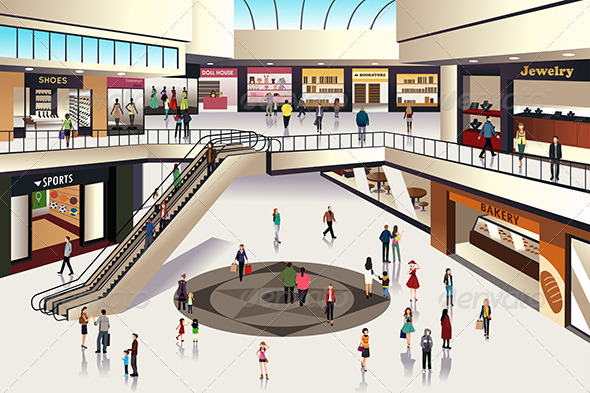 GraphicRiver Shopping Mall 7809543