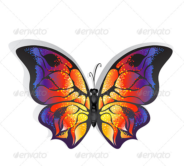 GraphicRiver Bright Butterfly 7809670