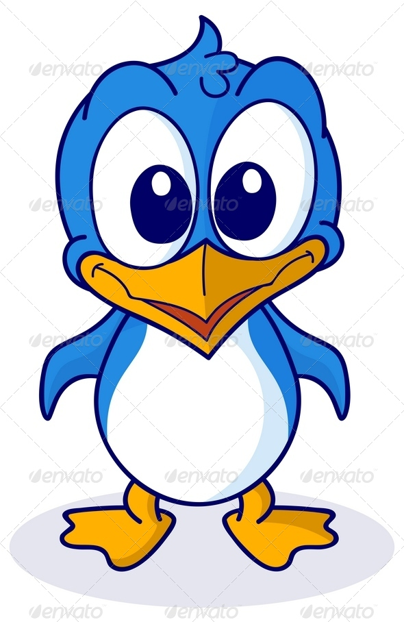 GraphicRiver Cute Cartoon Penguin 7809694
