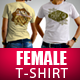 Female T-Shirt Mock Up - GraphicRiver Item for Sale