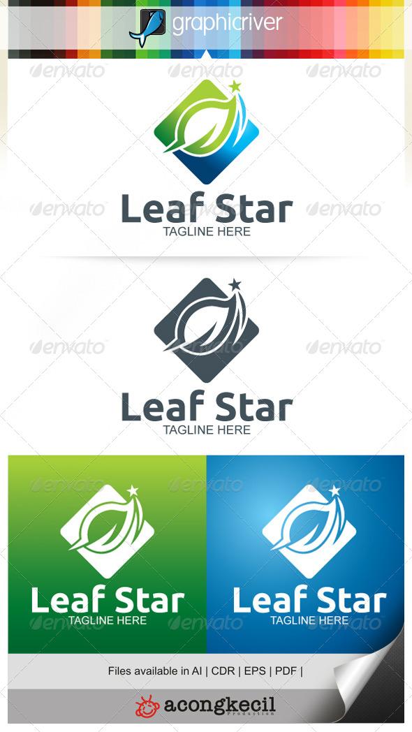GraphicRiver Leaf Star V.2 7809816