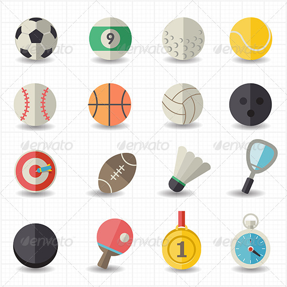 GraphicRiver Sport Icons 7809946