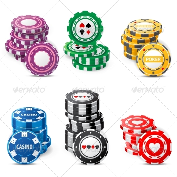 GraphicRiver Gambling Chips 7810061