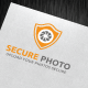 Secure Photo Logo Template - GraphicRiver Item for Sale