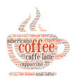 Coffee Shaped Word Cloud - PhotoDune Item for Sale
