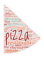 Pizza Shaped Word Cloud - PhotoDune Item for Sale