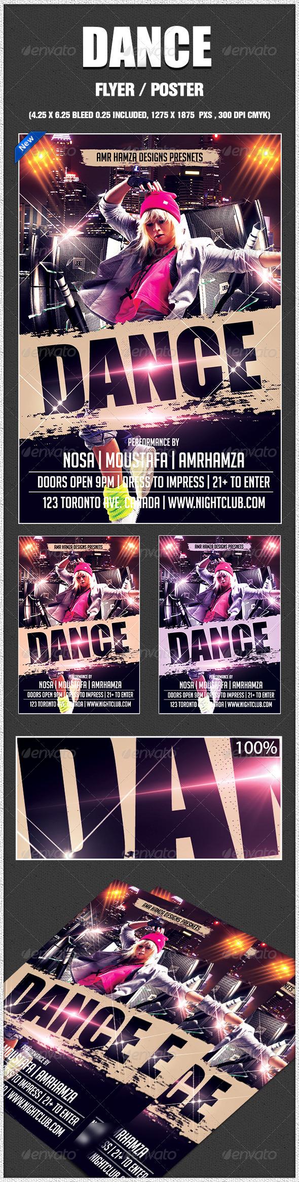 GraphicRiver Dance 7810498