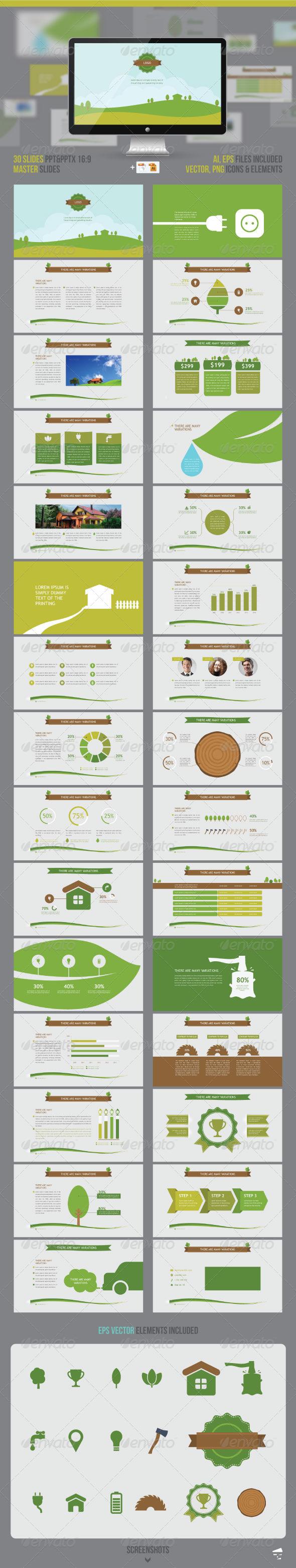 GraphicRiver Nature Presentation 7810502