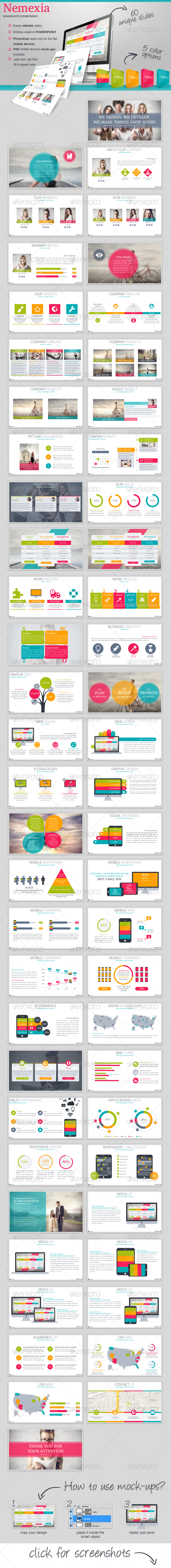 GraphicRiver Nemexia Powerpoint Presentation 7810580