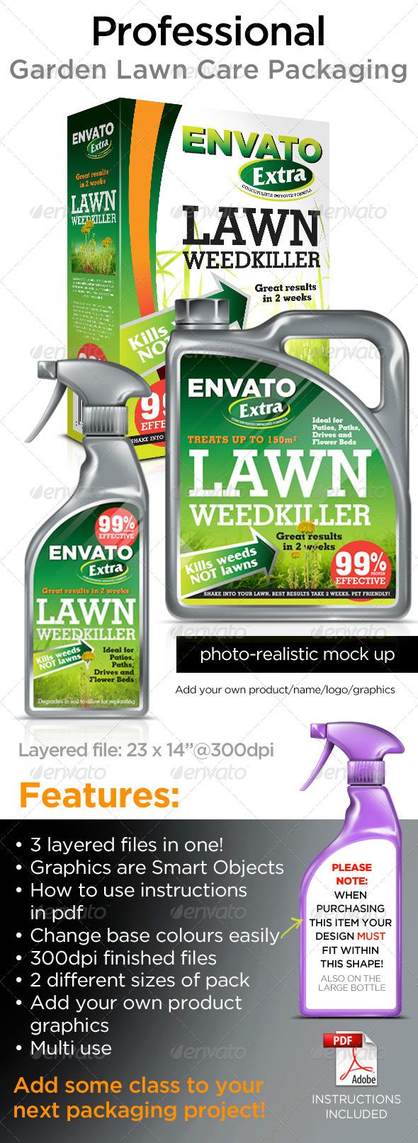 GraphicRiver Garden Lawn Care Range 7789287