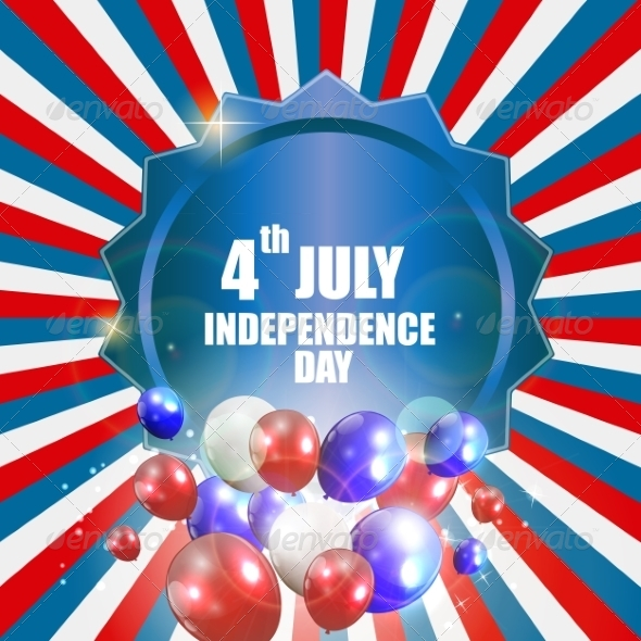GraphicRiver Independence Day Poster Vector Illustration 7811115