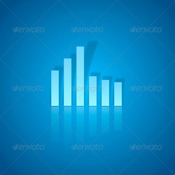 GraphicRiver Blue Graph 7811123
