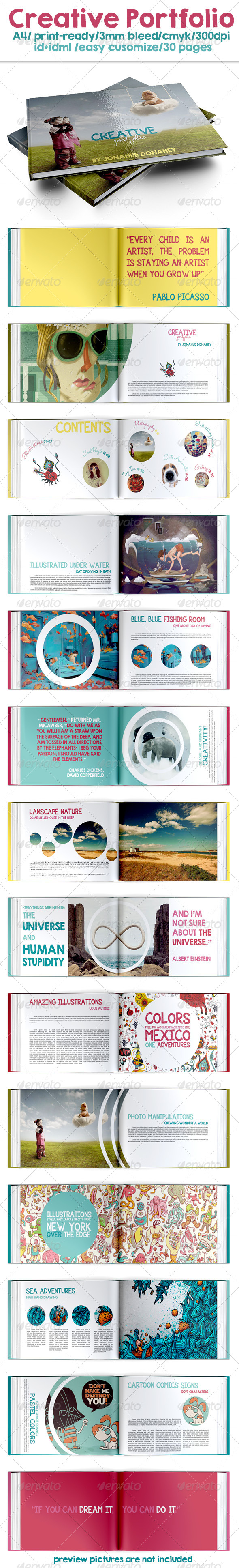 GraphicRiver Creative Portfolio 7811227