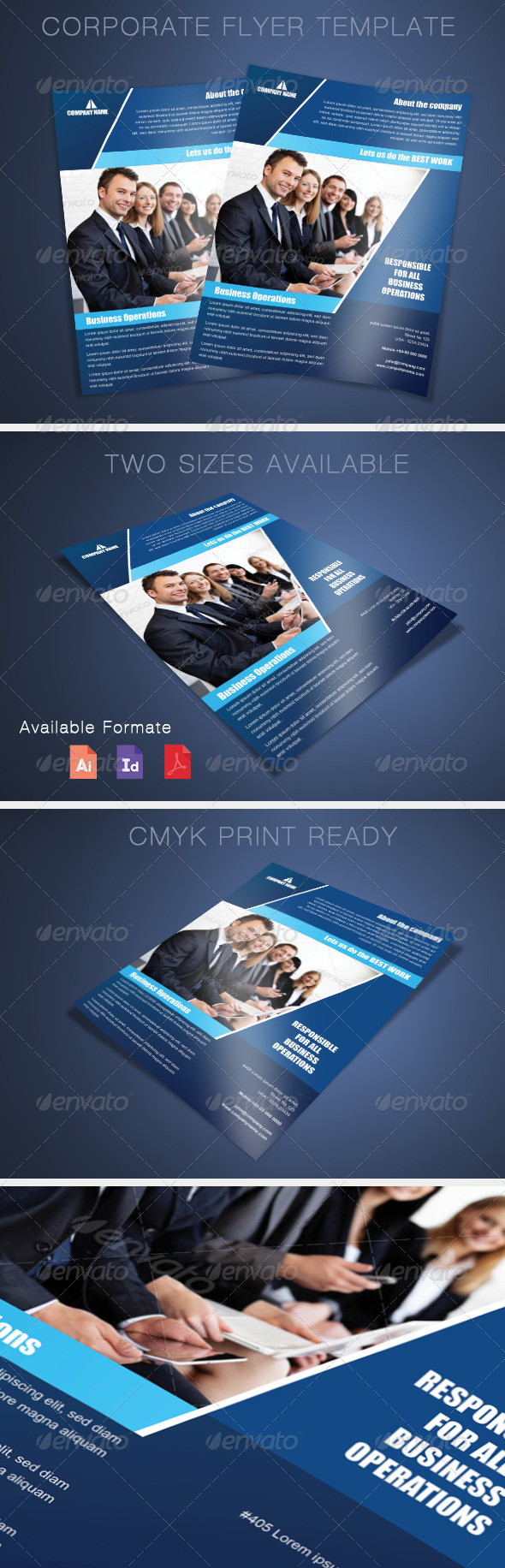 GraphicRiver Corporate Flyer Template 7811782