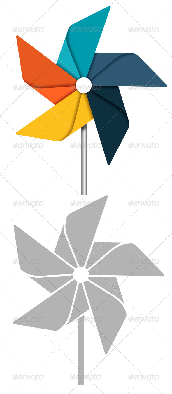 GraphicRiver Pinwheel 7792559