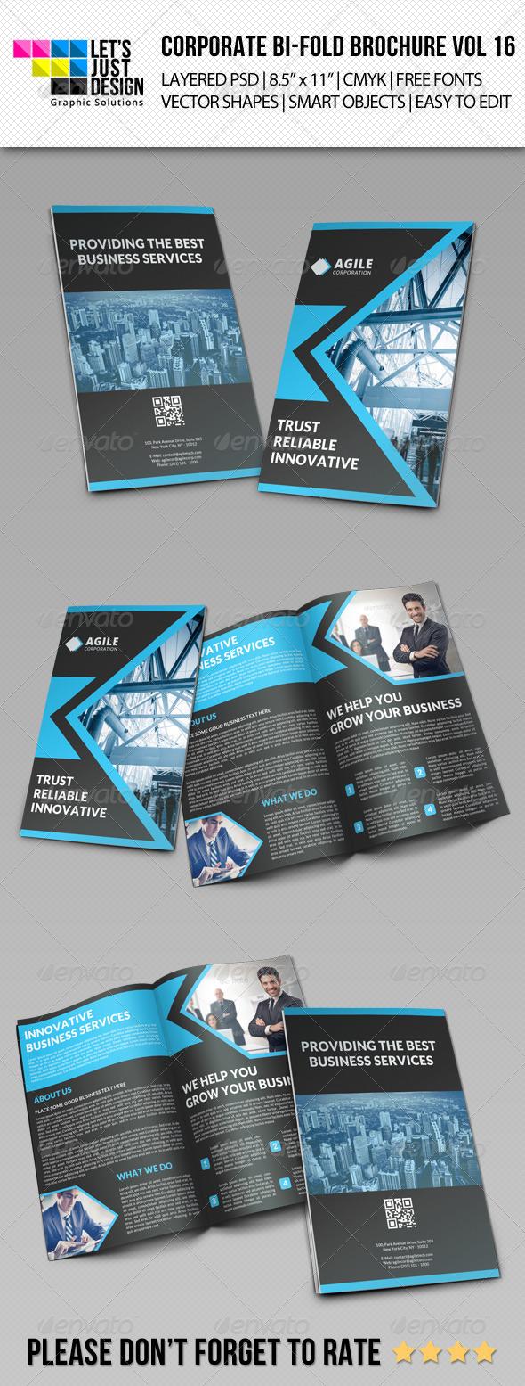 GraphicRiver Creative Corporate Bi-Fold Brochure Vol 16 7812085