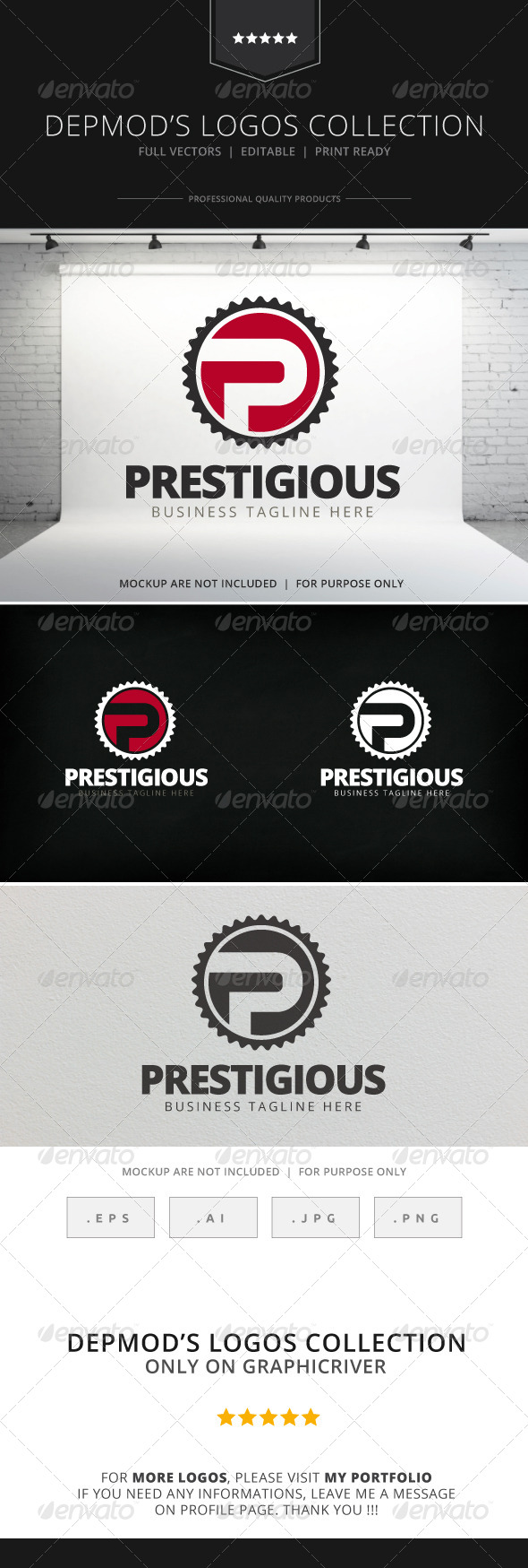 Prestigious Logo - Letters Logo Templates