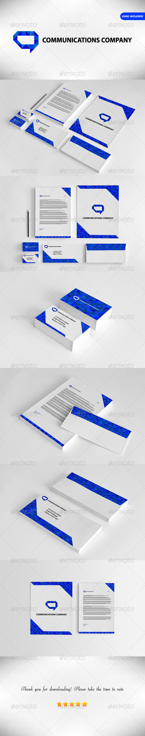 GraphicRiver Corporate Identity Communication Company 7793317