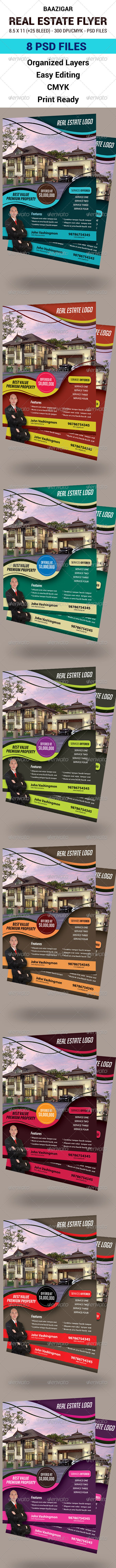 GraphicRiver Real Estate Flyer 7794899