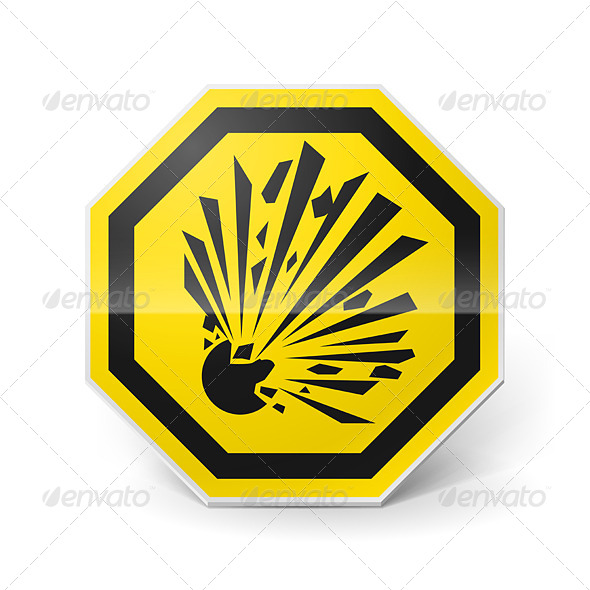 GraphicRiver Explosion Sign 7812719