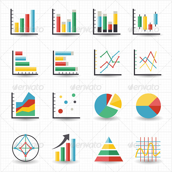 GraphicRiver Graph Chart Icons 7812727