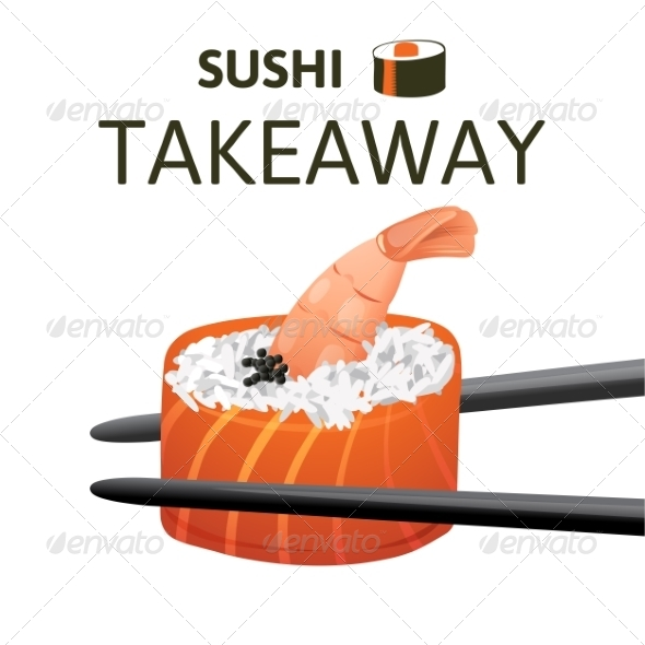 GraphicRiver Sushi Takeaway 7812995