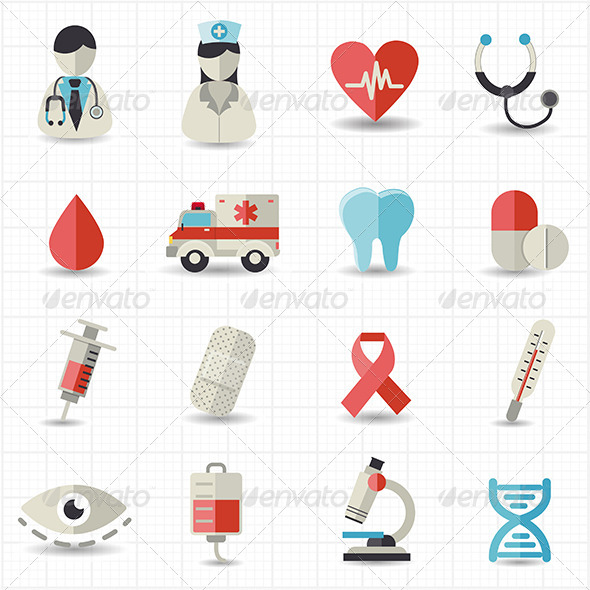 GraphicRiver Healthcare and Medical Icons 7813457