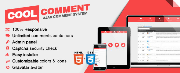 CodeCanyon Cool comments ajax system 7813622