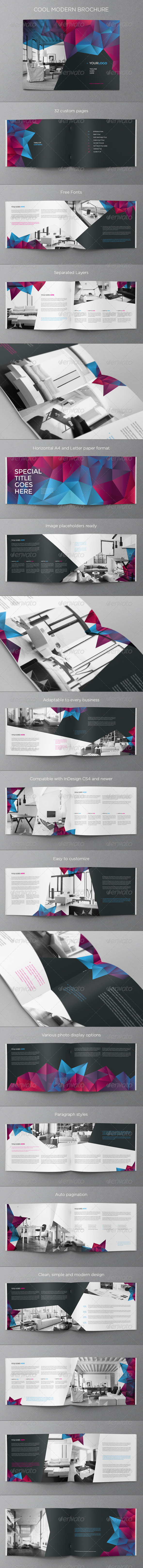 GraphicRiver Cool Modern Brochure 7813777