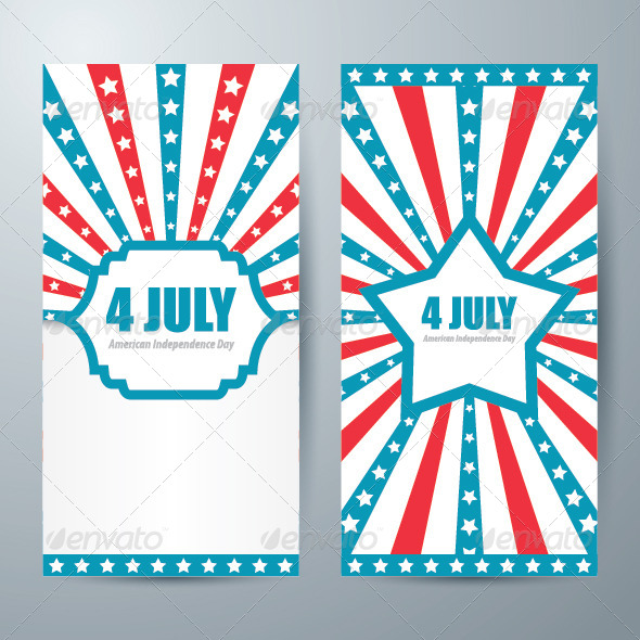 GraphicRiver Memorial Independence Day Card 7813792