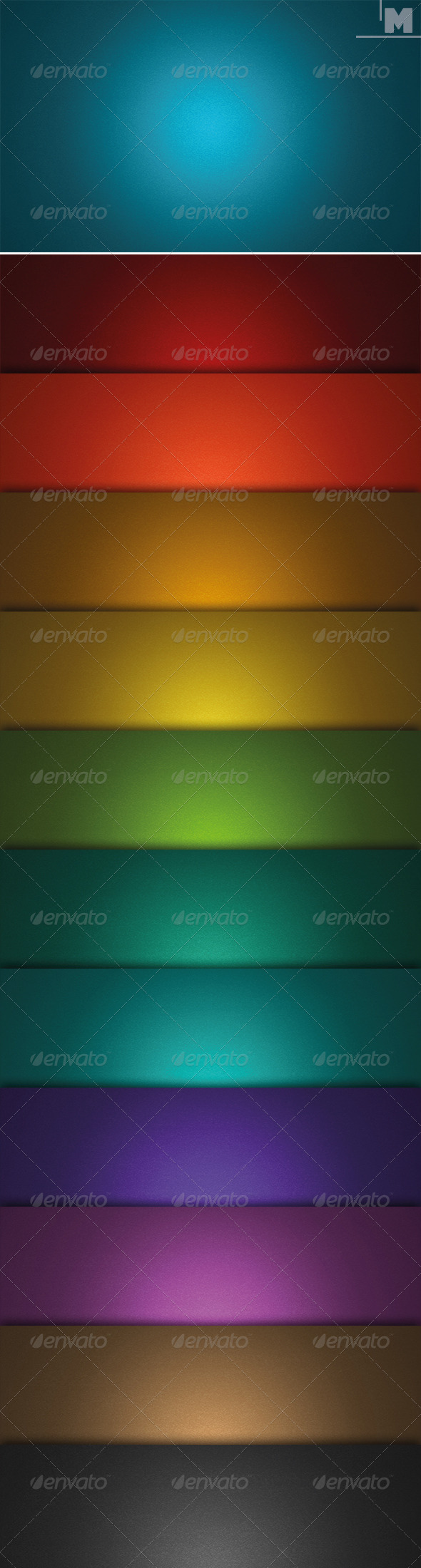 GraphicRiver Grunge Colored Backgrounds 7814156
