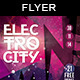 Electro City | Flyer Template - GraphicRiver Item for Sale