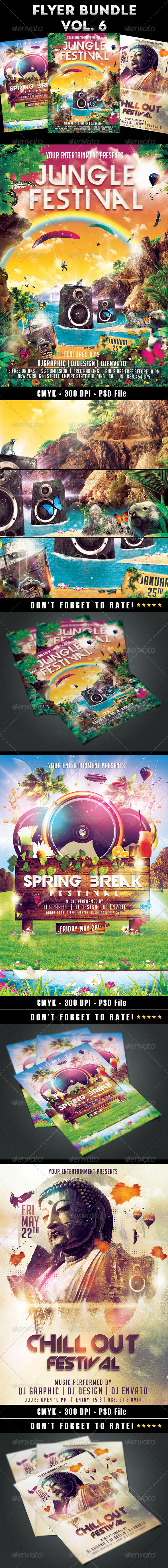 GraphicRiver Flyer Bundle vol.6 7814232