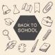 School Education Symbols Set - GraphicRiver Item for Sale