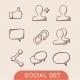 Communication Symbols Set - GraphicRiver Item for Sale