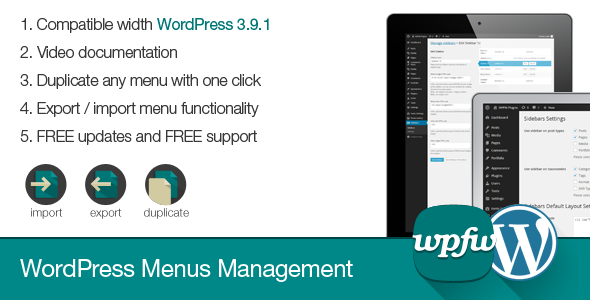 CodeCanyon WordPress Menus Management 7814552