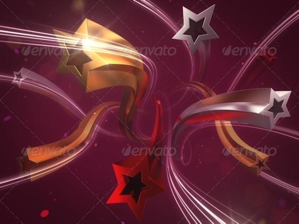 GraphicRiver Festive Stars 7814964