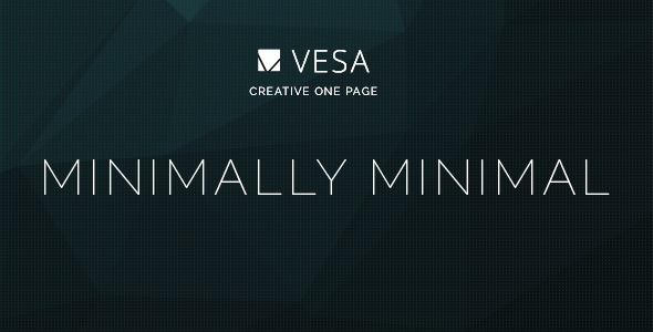 ThemeForest Vesa Responsive Parallax One Page Template 7759632