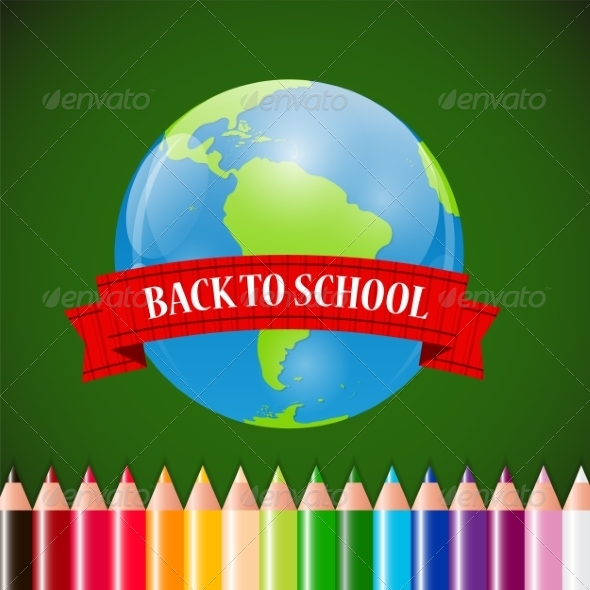 GraphicRiver Back to School Concept 7815142