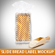 Slide Bread Label Mockup - GraphicRiver Item for Sale