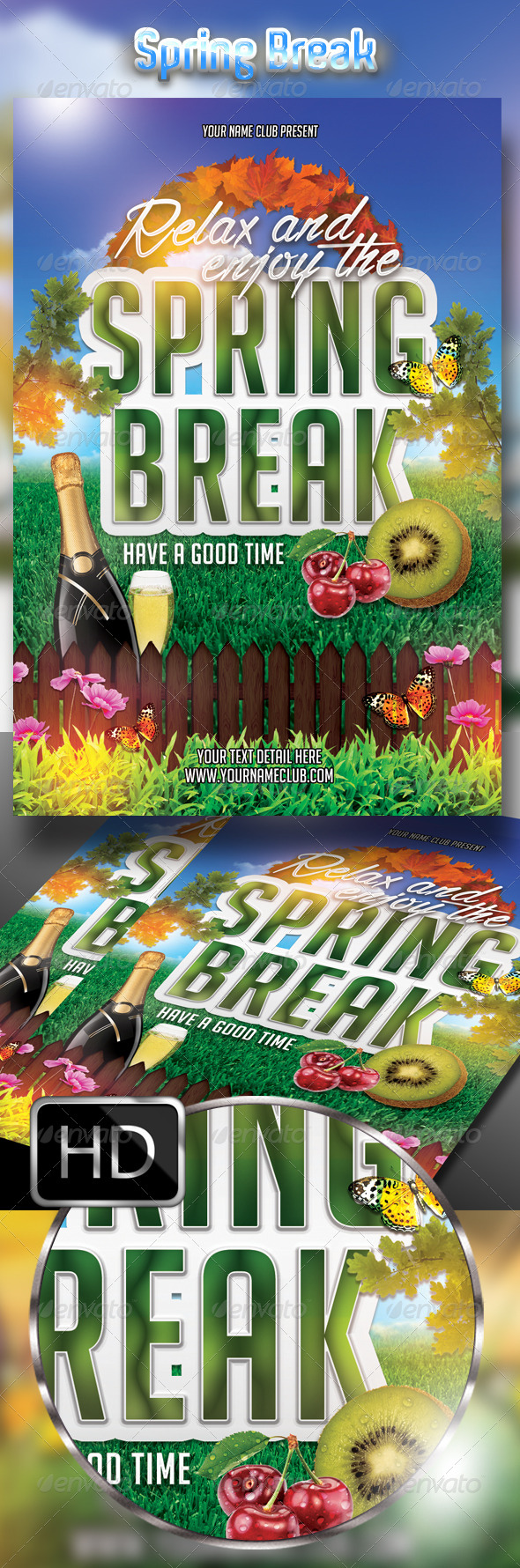 Relax and Enjoy The Spring Break Party