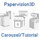Papervision 3D Carousel / Tutorial - ActiveDen Item for Sale