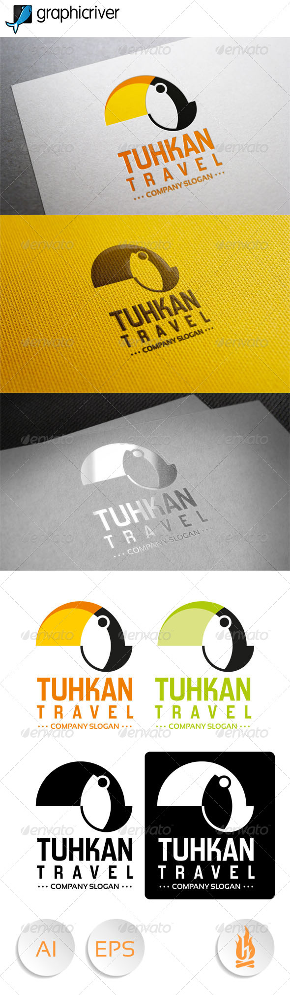 GraphicRiver Tuhkan Travel 7815262
