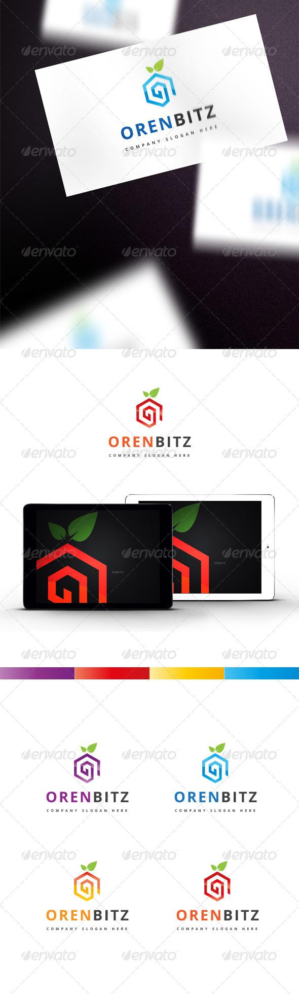 GraphicRiver Orenbitz Logo 7806253