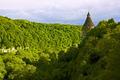 Green steep slope in Kamianets-Podilsky, Ukraine - PhotoDune Item for Sale