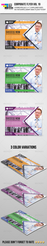 GraphicRiver Corporate Flyer Template Vol 19 7815605