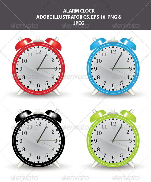 GraphicRiver Alarm Clock 7816495