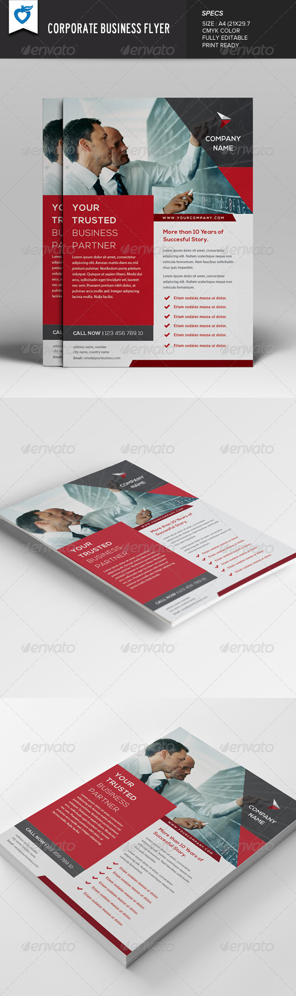 GraphicRiver Corporate Business Flyer v4 7816553