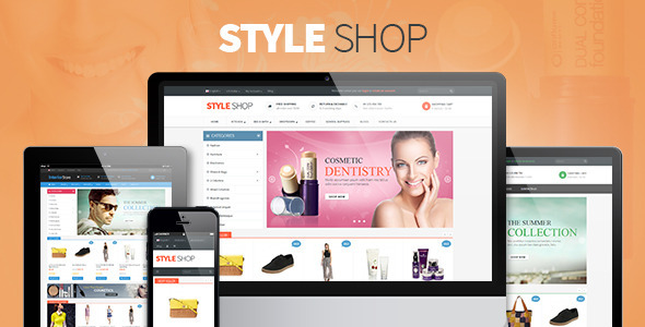 Pav StyleShop Responsive Opencart Theme - Shopping OpenCart